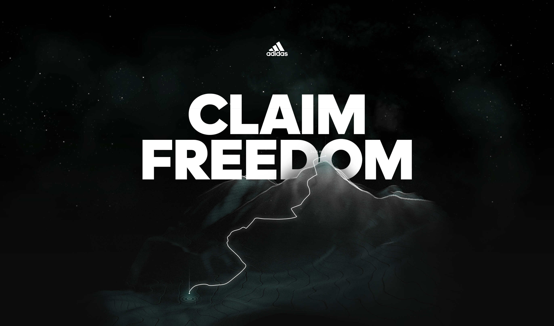 adidas™ Claim Freedom